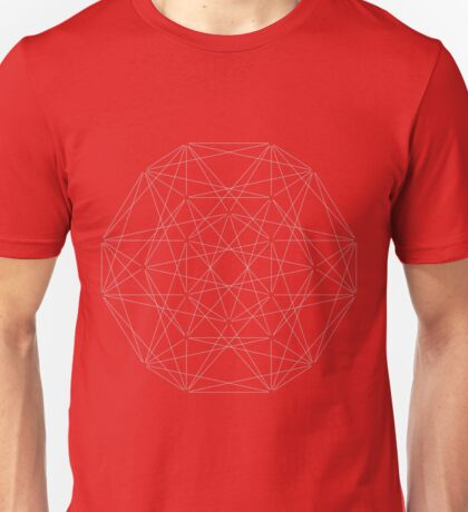 24 Cell Polytope Unisex T-Shirt