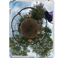 Siblings on a 6 Seater Swing iPad Case/Skin