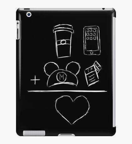 Coffee Ears FP Phone Equals Love iPad Case/Skin