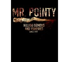 Mr. Pointy Photographic Print