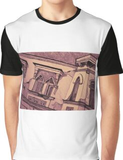 Drawing of an old Venetian Palace Graphic T-Shirt