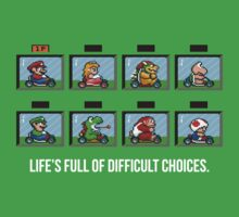 Difficult Choices by TWMTees