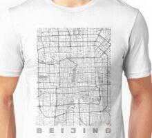 Beijing Map Line Unisex T-Shirt