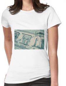 Drawing of an old Venetian Palace Womens Fitted T-Shirt