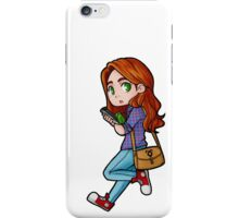 Clary sticker iPhone Case/Skin