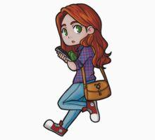 Clary sticker by hellredsky