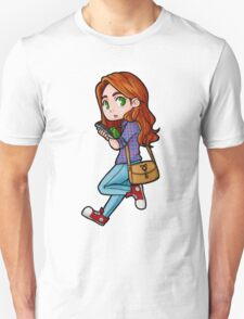 Clary sticker Unisex T-Shirt