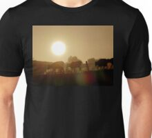 Misty Sunrise Cows - NZ Unisex T-Shirt