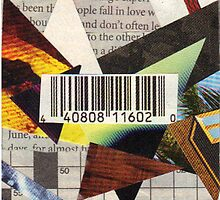 Barcode Collage by Lordmoomoo