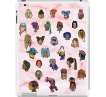 Floating heads of Colored girls  iPad Case/Skin