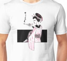 Oiran (White Version) Unisex T-Shirt