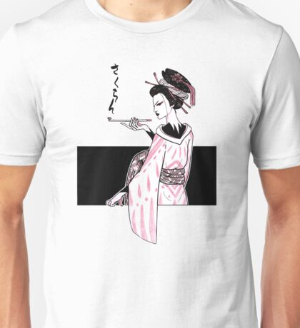 Oiran (White Version) Unisex T-Shirt