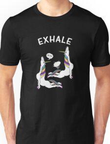 Yoga Unicorn - Exhale Cobra Pose Unisex T-Shirt