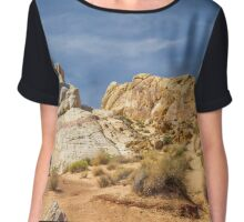Valley Of Fire Chiffon Top