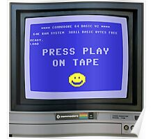 C64 - Press Play on Tape Poster
