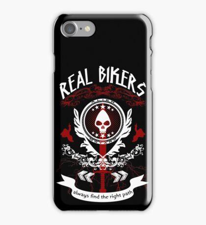 Real Bikers iPhone Case/Skin