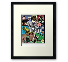 Grand Theft A-Holes | Guardians of the Galaxy Framed Print