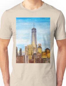 New York City freedom tower Unisex T-Shirt