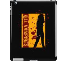 Kill Vampires iPad Case/Skin