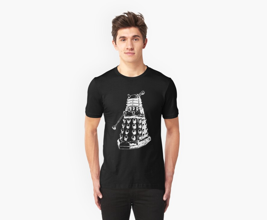 Dalek (white) by Shannon Surwillo