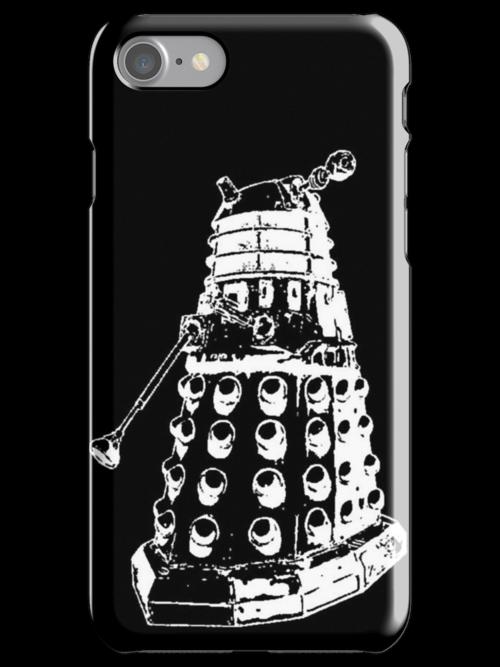 Dalek (white) by Shannon Surwillo