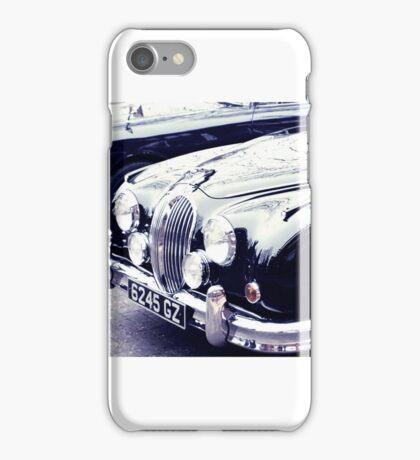 Classic Car Line Up iPhone Case/Skin