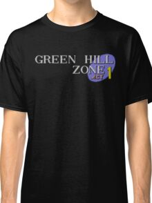Green Hill Zone Classic T-Shirt