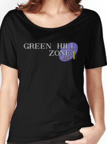 Green Hill Zone Women's Relaxed Fit T-Shirt