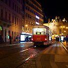 Tram 26, Prague by Nicholas Coates
