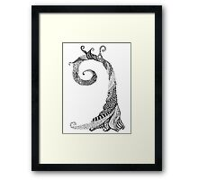 Ancient Lizard Tree T-shirt Framed Print