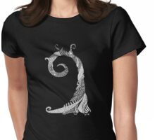 Ancient Lizard Tree T-shirt Womens Fitted T-Shirt