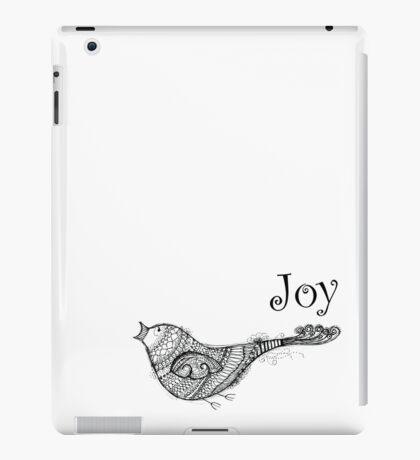 Christmas Joy Bird - Kerry Beazley iPad Case/Skin