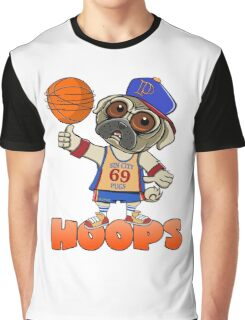 HOOPS! THE SIN CITY PUGS BASKETBALL CLUB. Graphic T-Shirt