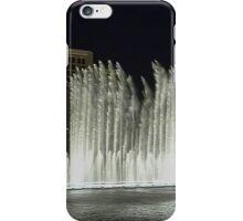 Dancing Waters at the Bellagio - Las Vegas - Nevada - USA iPhone Case/Skin