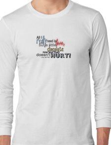 spelling text 2 Long Sleeve T-Shirt