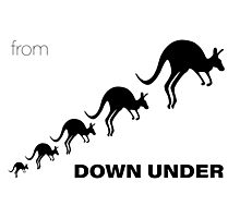 Kangaroos - From Down Under Photographic Print