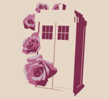 A Rose for the Doctor (pink) by David White