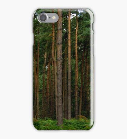 Green Forest Nature Scene iPhone Case/Skin