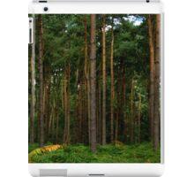 Green Forest Nature Scene iPad Case/Skin