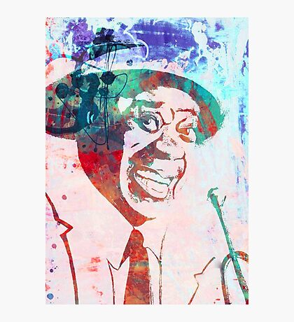 Louie Armstrong Photographic Print