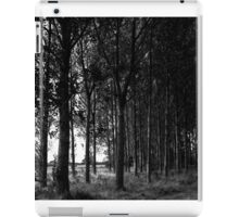 Black and White Tree Landscape Scene iPad Case/Skin