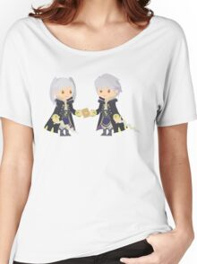 Chibi Robins Vector Women's Relaxed Fit T-Shirt