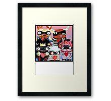 Artist Monsters Framed Print