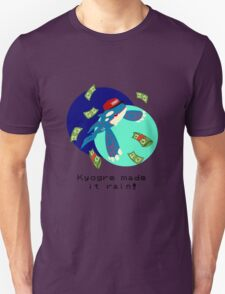 Kyogre made it rain! Unisex T-Shirt