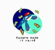 Kyogre made it rain! Unisex T-Shirt