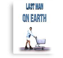 Last Man On Earth Canvas Print