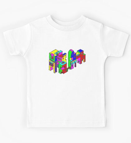 New Town #6 (Colour) Kids Tee