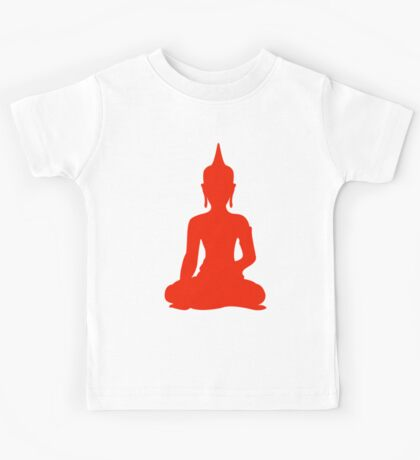 Red Buddha Kids Tee