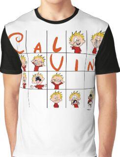Calvin face  Graphic T-Shirt