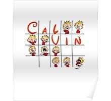 Calvin face  Poster
